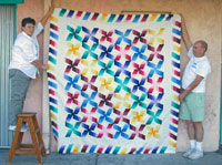 Quilt to be donated